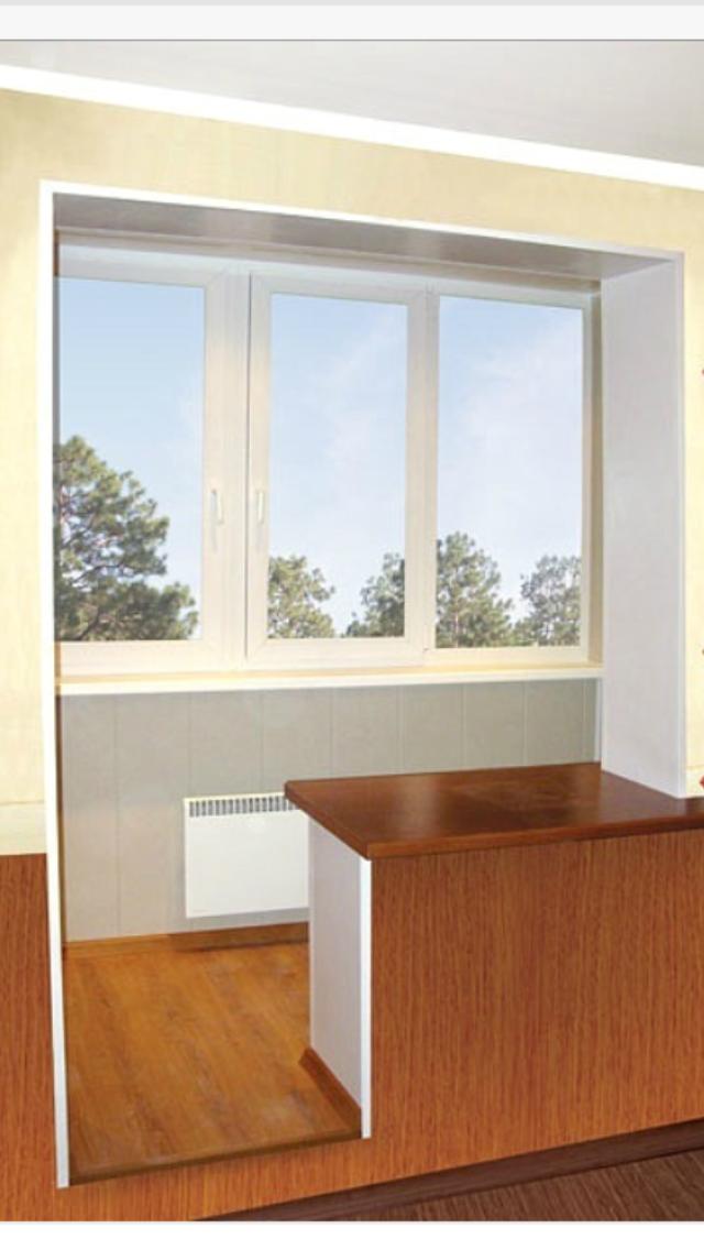 Совмещаем лоджию или балкон с комнатой - увеличиваем полезно.